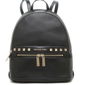 MICHAEL KORS Kenly Medium Studded Backpack Black